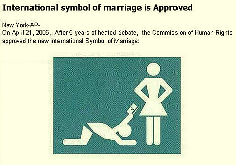 International Symbol of Marriage